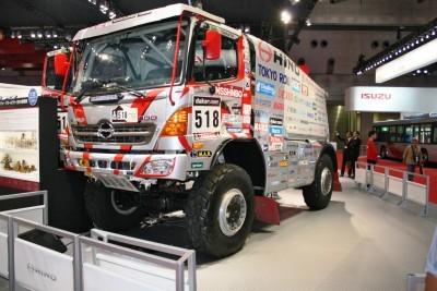 Isuzu Dakar Rally truck copy
