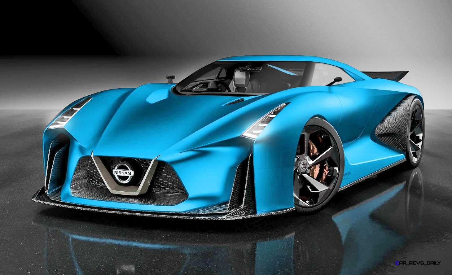 Nissan NC2020 Vision Gran Turismo Red