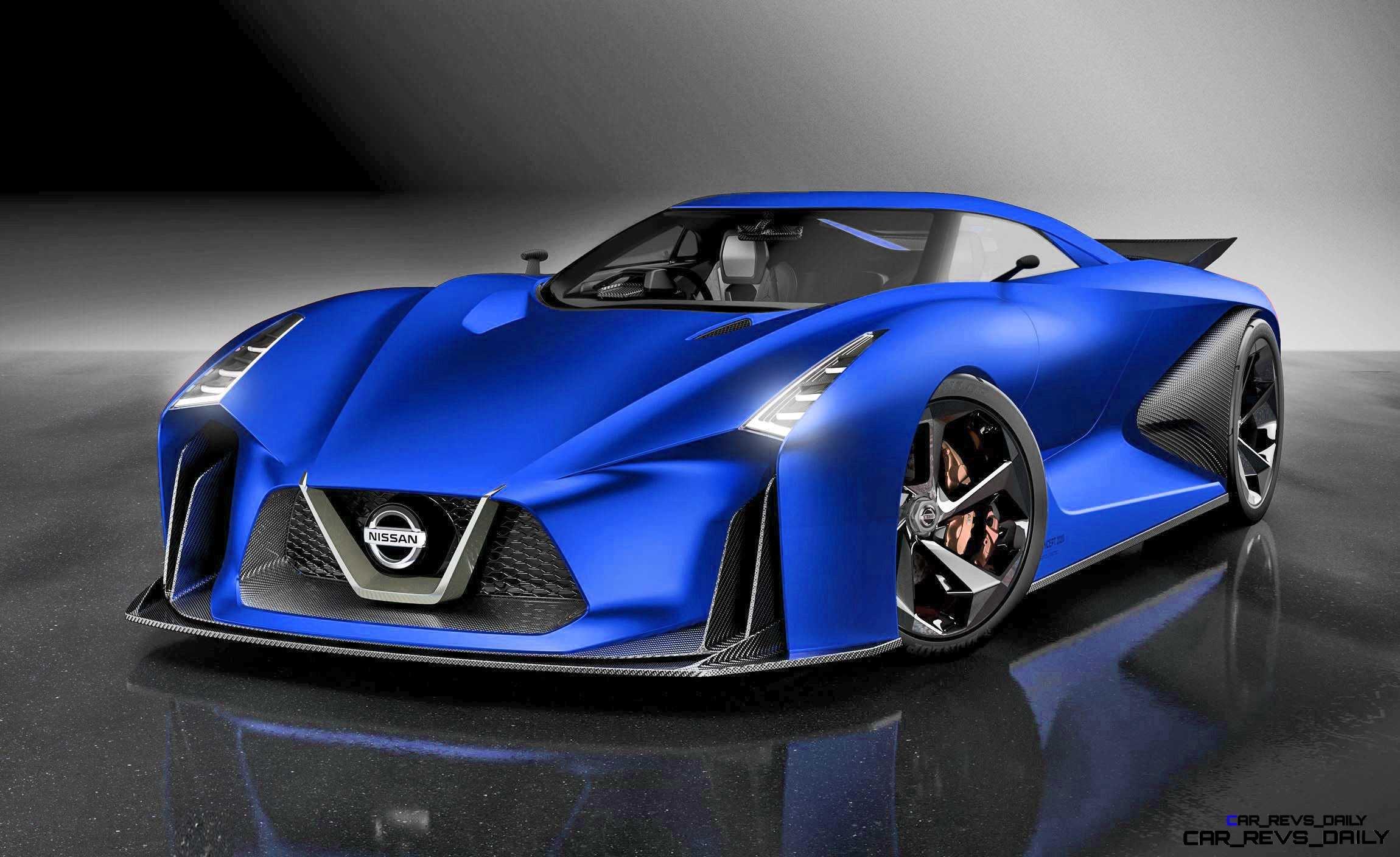 Nissan NC2020 Vision Gran Turismo Red