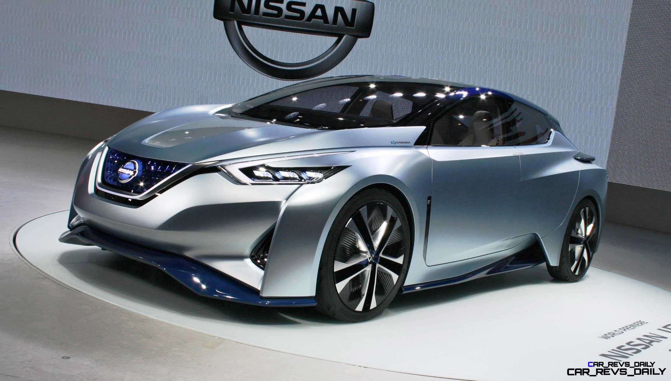 2015 Nissan IDS Concept is Autopilot EV with Sharply Stylish Aero