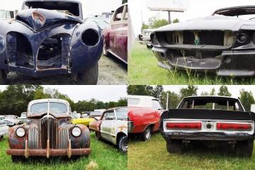 SC Classic Cars - Photo Tour of 50 RARE ICONS in Original, Un-restored Condition [176 Pics]