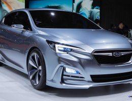 2015 Subaru Impreza 5-Door Concept, WRX S207 NBR Challenge Join Packed Tokyo Showstand