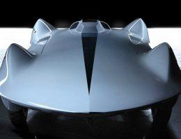 1955 Carlo Mollino Record Car Model by Stola S.p.A., 2006