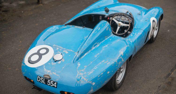 1955 Ferrari 500 Mondial Barchetta by Scaglietti