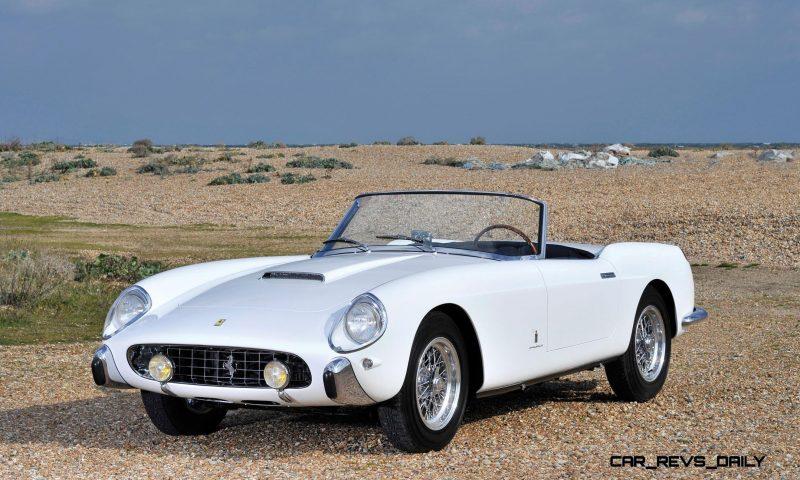 1958 Ferrari 250 GT Cabriolet Series I by Pinin Farina Bianco White 1