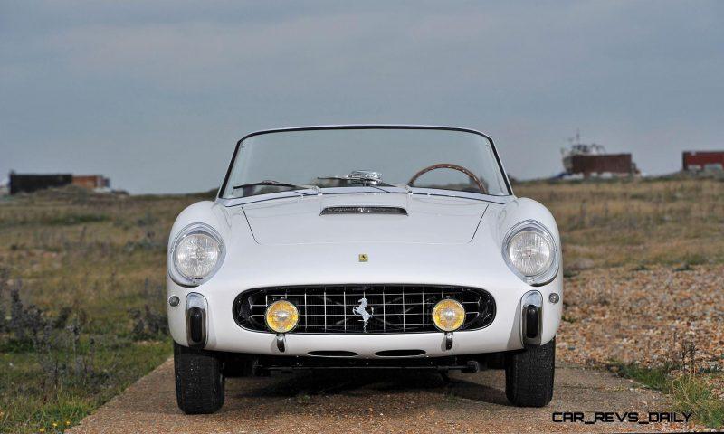 1958 Ferrari 250 GT Cabriolet Series I by Pinin Farina Bianco White 13