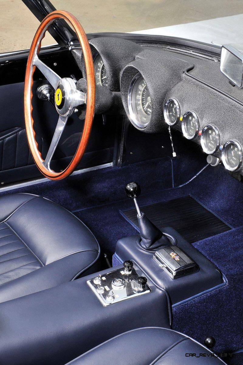 1958 Ferrari 250 GT Cabriolet Series I by Pinin Farina Bianco White 18
