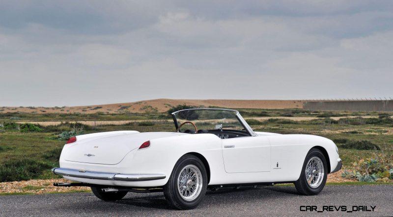 1958 Ferrari 250 GT Cabriolet Series I by Pinin Farina Bianco White 2