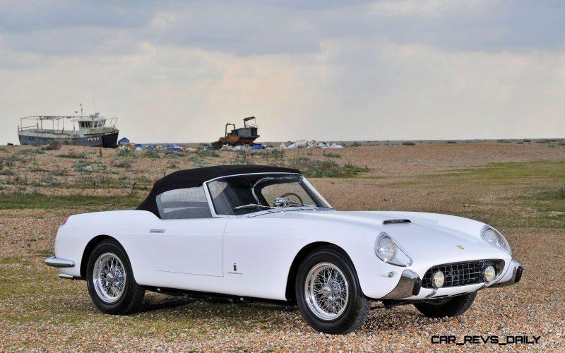 1958 Ferrari 250 GT Cabriolet Series I by Pinin Farina Bianco White 21