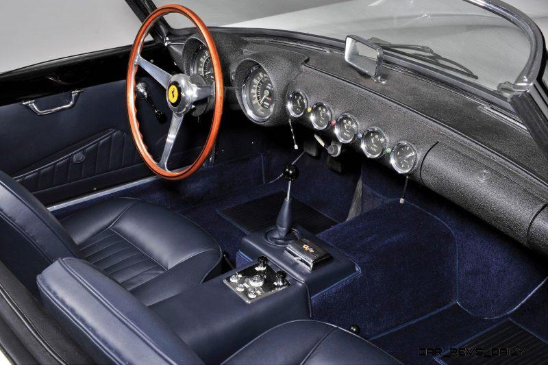 1958 Ferrari 250 GT Cabriolet Series I by Pinin Farina Bianco White 4