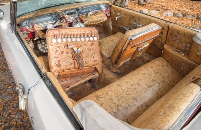 1963 Pontiac Bonneville 'Roy Rogers' Nudie Mobile 14