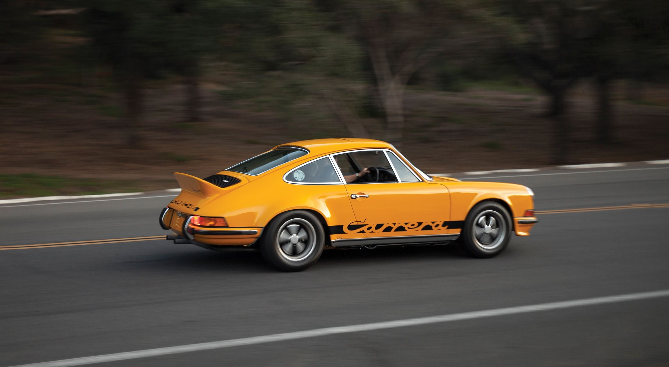 super car porsche 911 rs carrera 1973