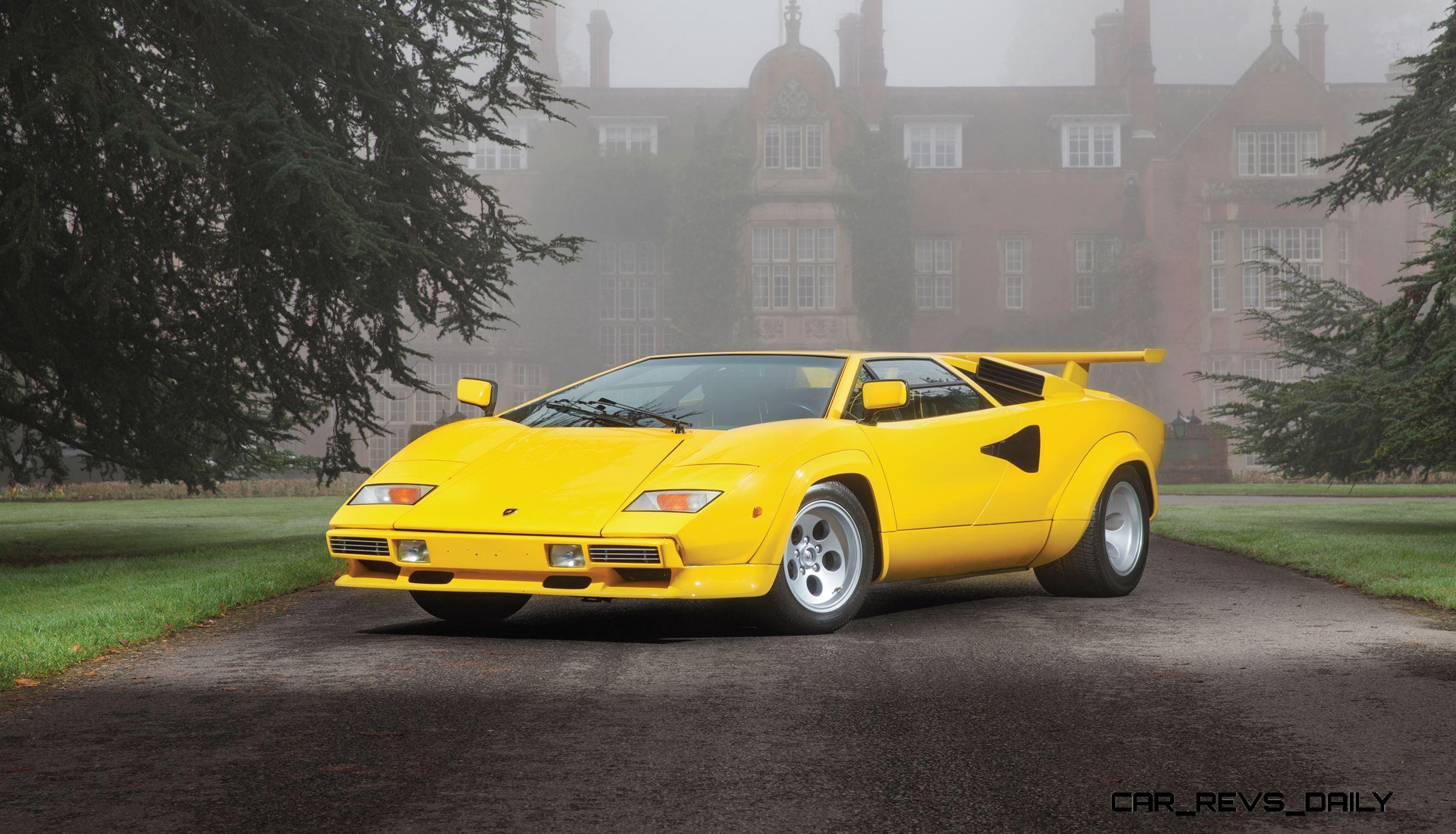 Rm Paris 2016 1981 Lamborghini Countach Lp400s Series