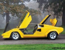 RM Paris 2016 – 1981 Lamborghini Countach LP400S Series III in Iconic Sunflower Yellow
