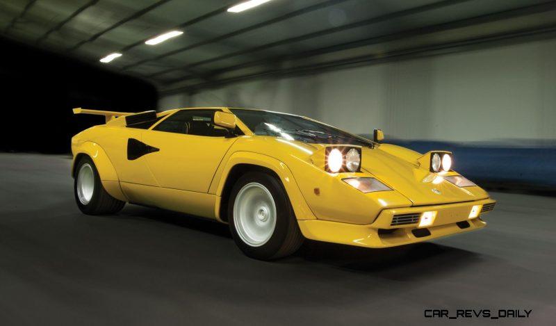 1981 Lamborghini Countach LP400 S Series III 25