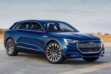 2015 Audi e-tron Quattro and TT Clubsport Turbo Concepts Grace Future Performance Event
