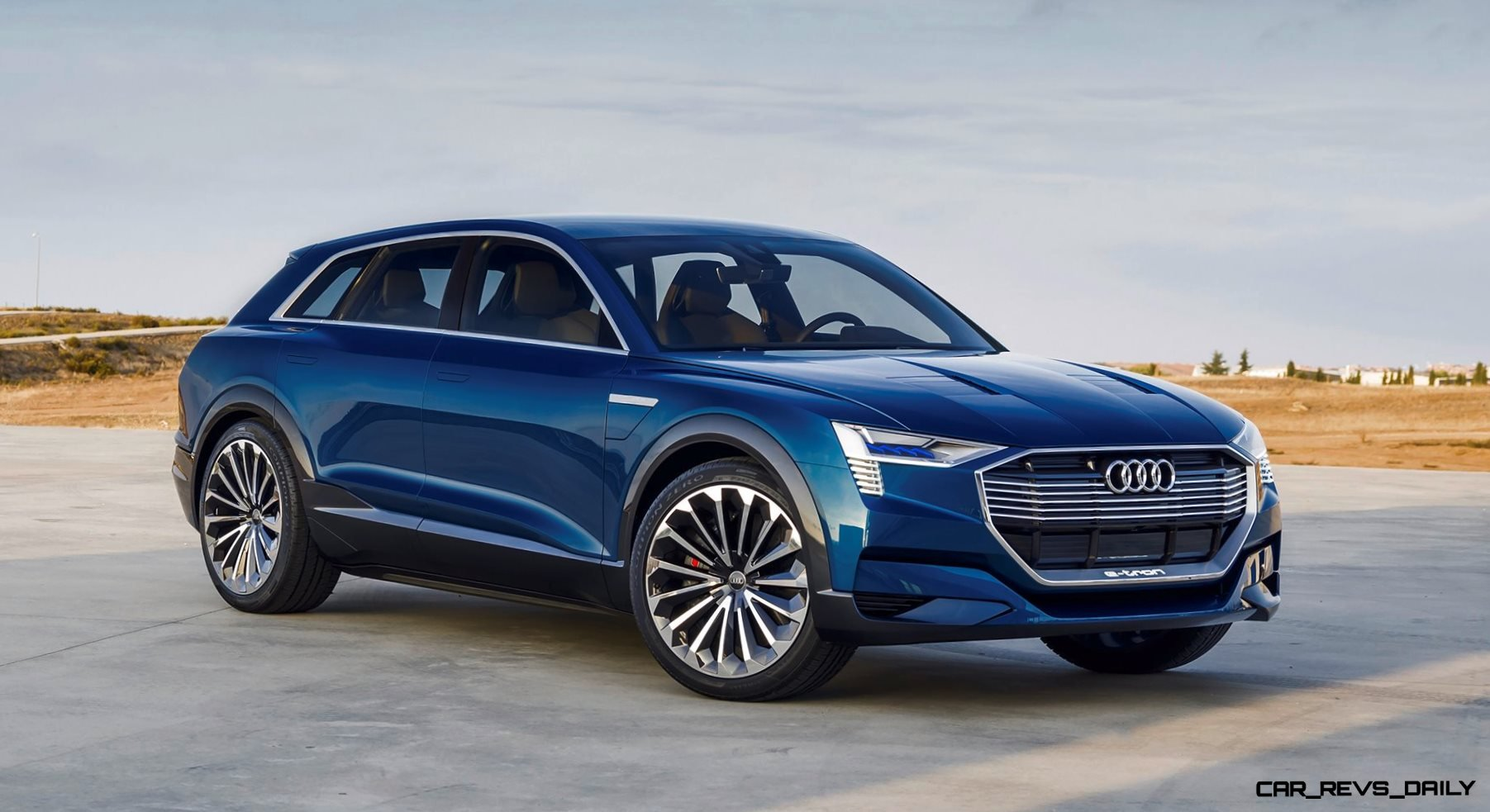 2015 Audi e-tron Quattro and TT Clubsport Turbo Concepts Grace Future Performance Event