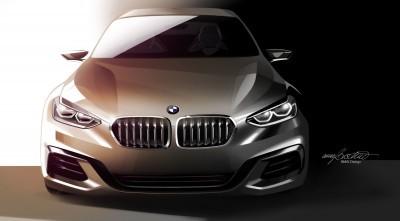 2015 BMW Concept Compact Sedan 17