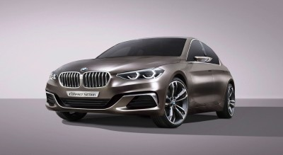 2015 BMW Concept Compact Sedan 2