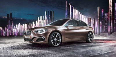 2015 BMW Concept Compact Sedan 5