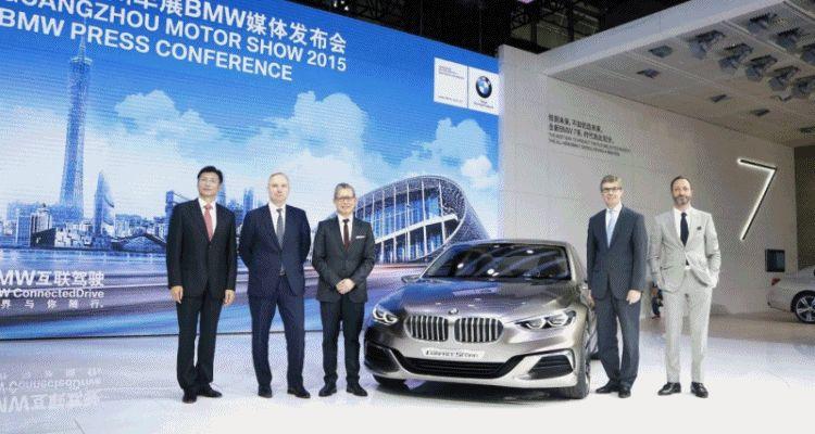 2015 BMW Concept Compact Sedan