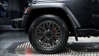 2015 Chelsea Truck Company CJ300 LE Jeep Wrangler VOLCANIC ROCK 14