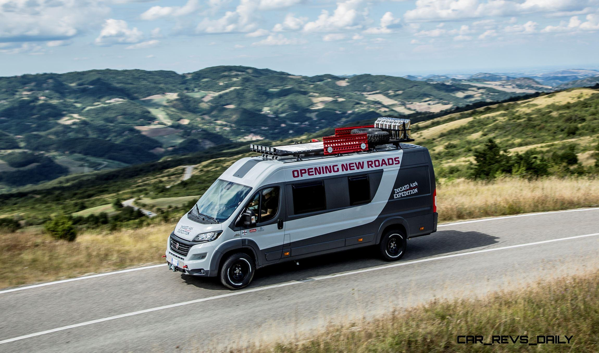 2015 Fiat Ducato 4x4 Expedition Concept Teases New ProMaster ...