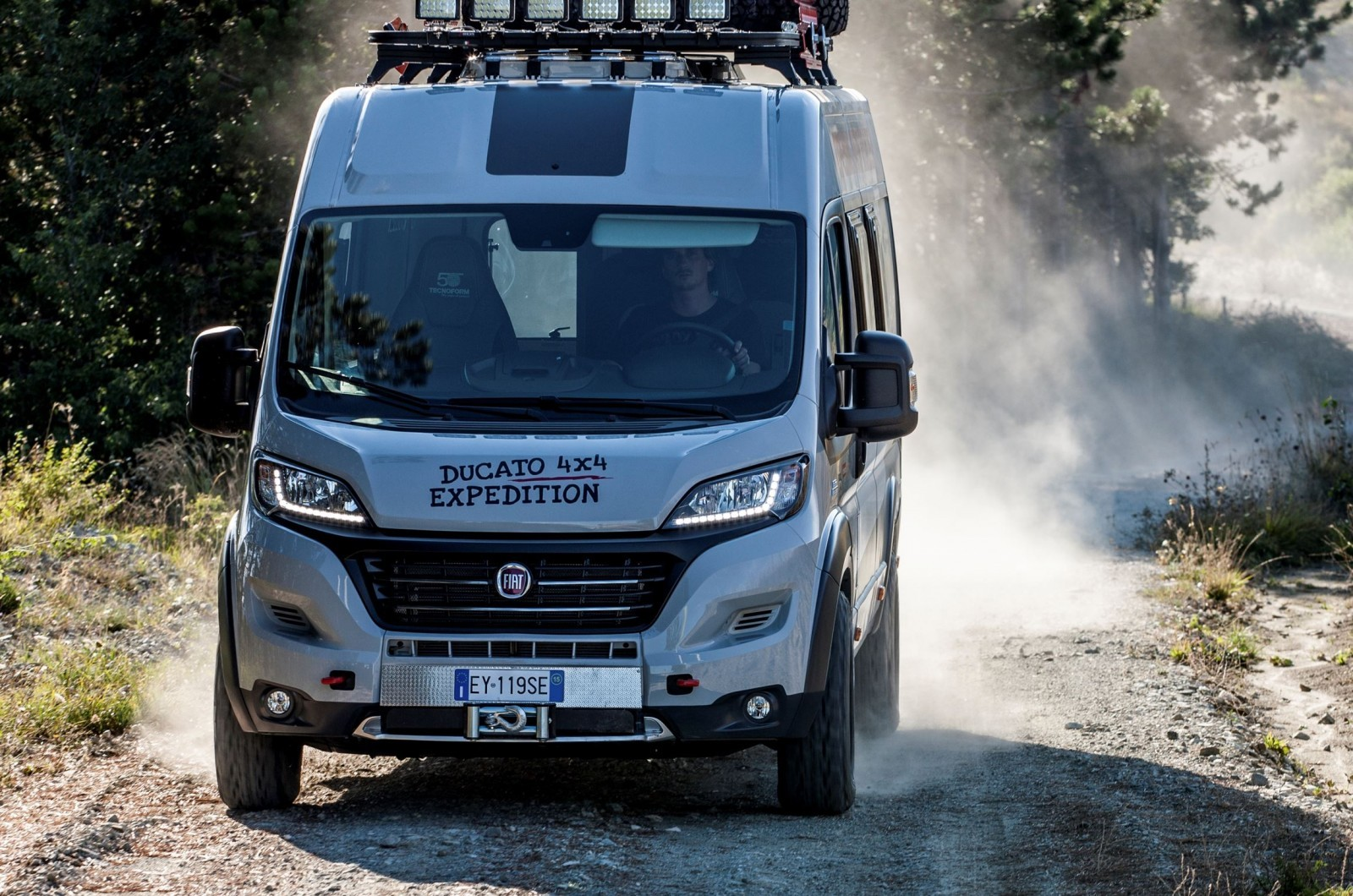 Fiat Updates The Ducato 4x4 Expedition Show Van To Celebrate The