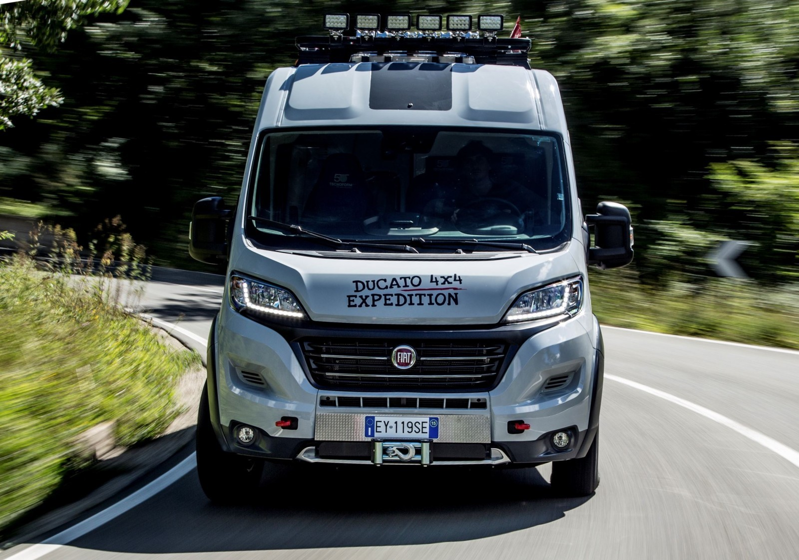 Mid City Nissan >> 2015 Fiat Ducato 4x4 Expedition Concept Teases New ...