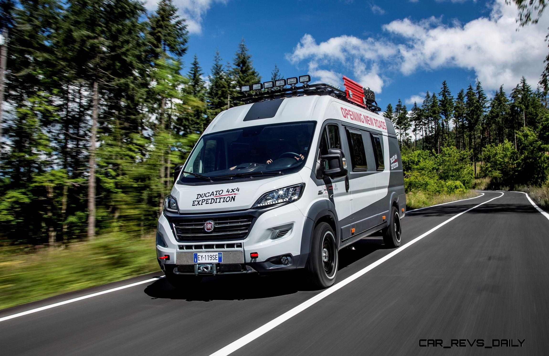 2015 Fiat Ducato 4x4 Expedition Concept Teases New