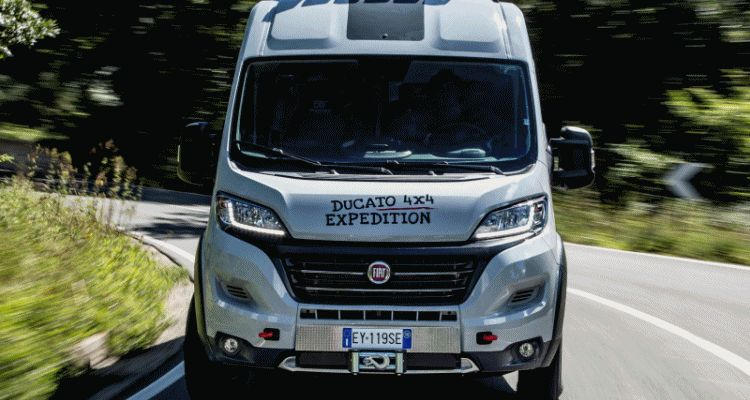 2015 Fiat Ducato 4x4 Expedition Concept