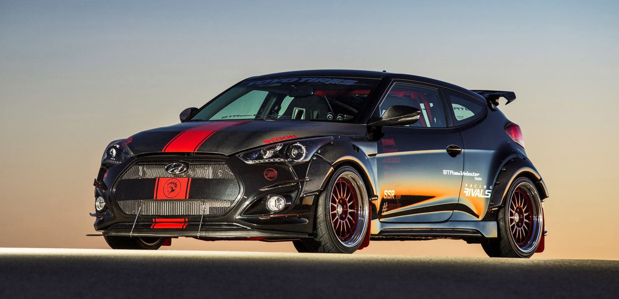 Hyundai Veloster Turbo R Spec By Blood Type Racing