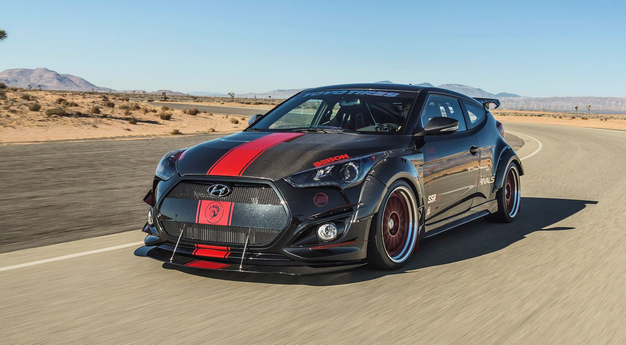 hyundai veloster turbo r spec by blood type racing. Black Bedroom Furniture Sets. Home Design Ideas