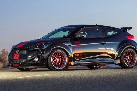 Blood Type Racing Makes 500hp Hyundai Veloster Turbo R Spec For Sema 2017