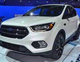 2017 Ford Escape Facelift Reveals New Tech, Engines, and Dark Sport Packages for Spring 2016 Arrival