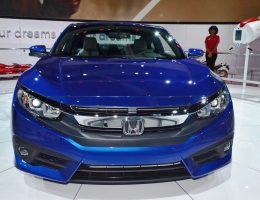 2016 Honda CIVIC Coupe Reveal – Big Style, Power from First-Ever Turbo Engine Option