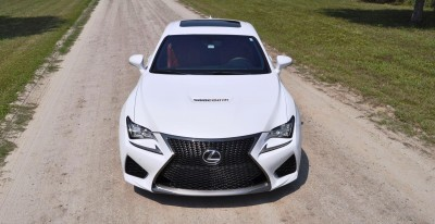 2015 Lexus RC-F Ultra White Premium Package 10