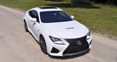 2015 Lexus RC-F Ultra White Premium Package 11