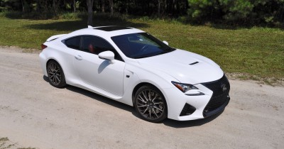 2015 Lexus RC-F Ultra White Premium Package 12