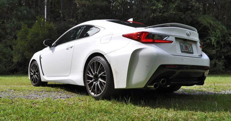 2015 Lexus RC-F Ultra White Premium Package 130