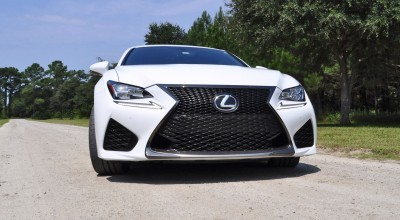 2015 Lexus RC-F Ultra White Premium Package 15
