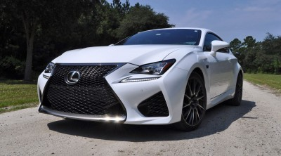 2015 Lexus RC-F Ultra White Premium Package 16