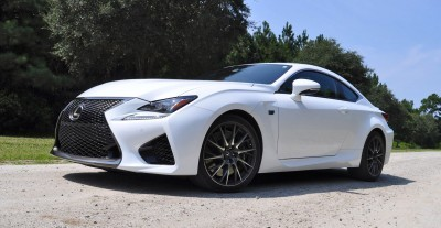 2015 Lexus RC-F Ultra White Premium Package 17