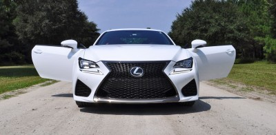 2015 Lexus RC-F Ultra White Premium Package 19