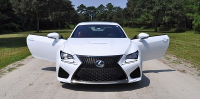 2015 Lexus RC-F Ultra White Premium Package 20