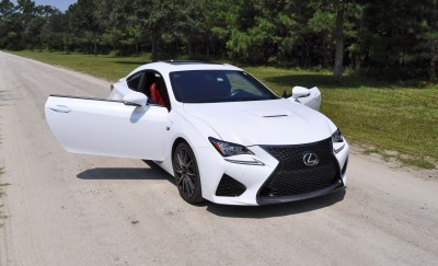 2015 Lexus RC-F Ultra White Premium Package 22