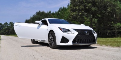 2015 Lexus RC-F Ultra White Premium Package 23