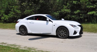 2015 Lexus RC-F Ultra White Premium Package 24