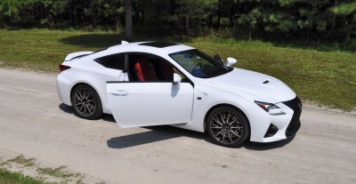 2015 Lexus RC-F Ultra White Premium Package 25
