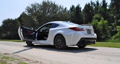 2015 Lexus RC-F Ultra White Premium Package 33